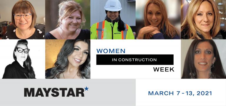 Maystar Celebrates Women in Construction Week