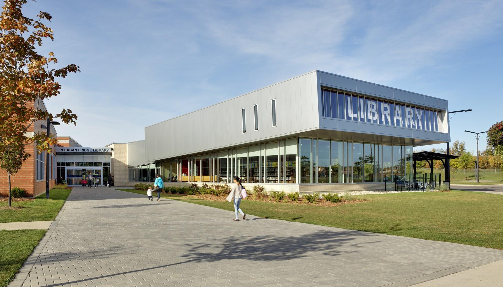 Hero Image of Pleasant Ridge Library