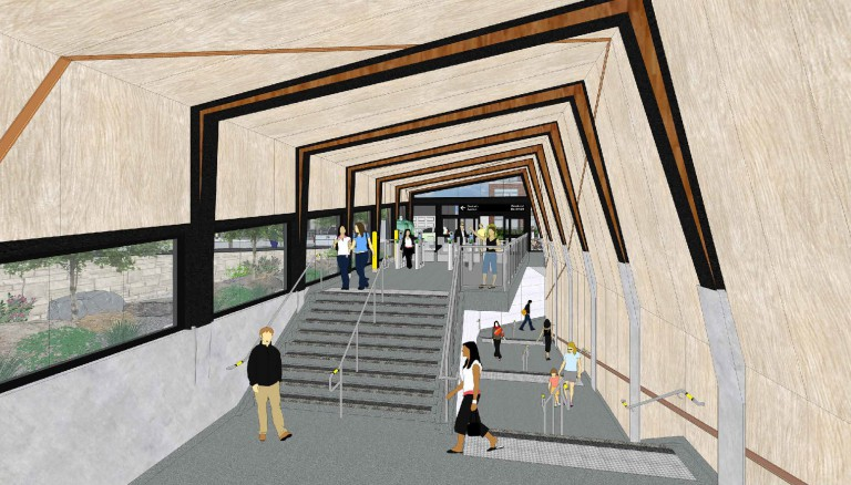 Donlands Station Second Exit / Entrance and Easier Access 2