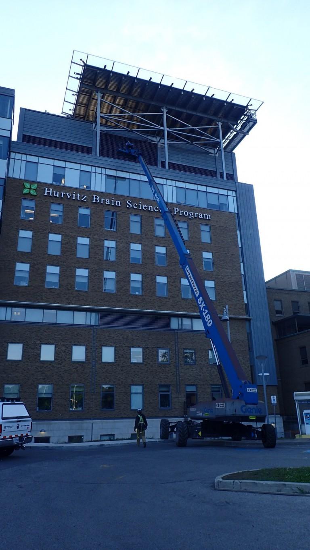 Sunnybrook Health Sciences Centre - Rooftop Helipad 8