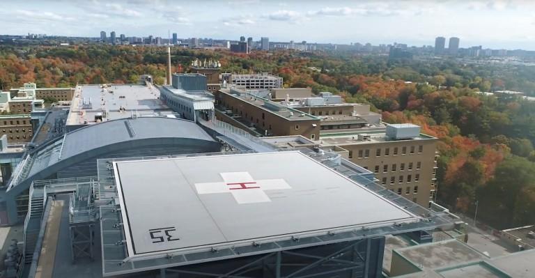 Sunnybrook Health Sciences Centre - Rooftop Helipad 1
