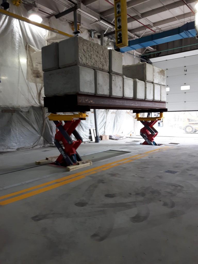 Lakeshore Garage Bus Hoist Replacement 4