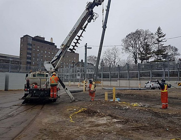 Roncesvalles Track and Carhouse Modifications 4