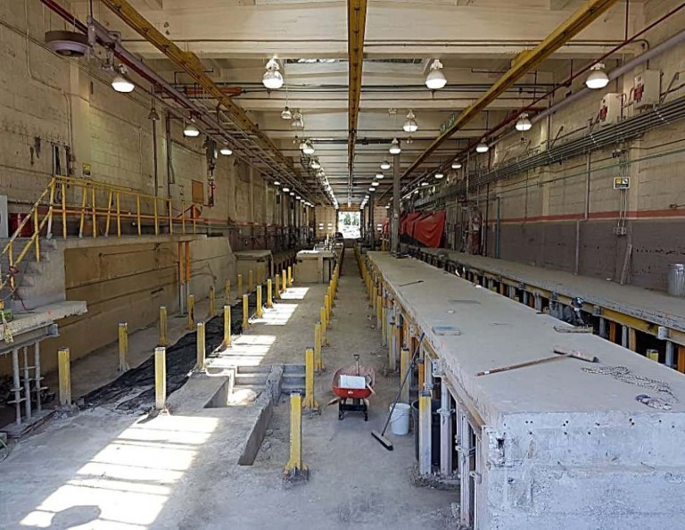 Roncesvalles Track and Carhouse Modifications 8
