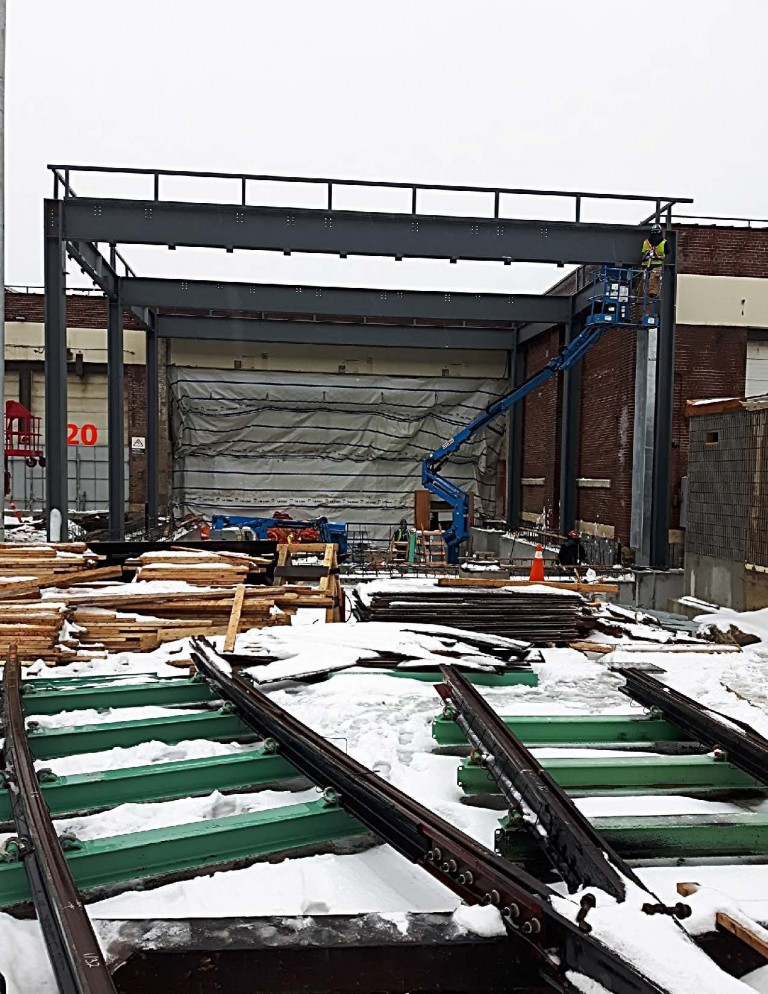 Roncesvalles Track and Carhouse Modifications 9