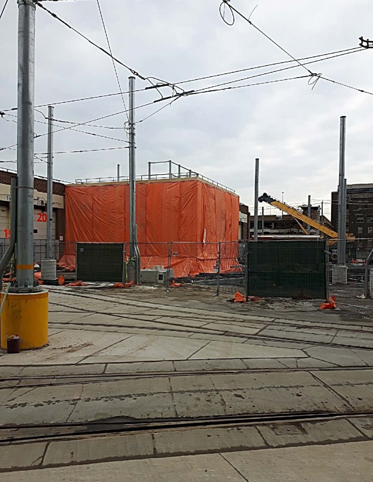 Roncesvalles Track and Carhouse Modifications 11